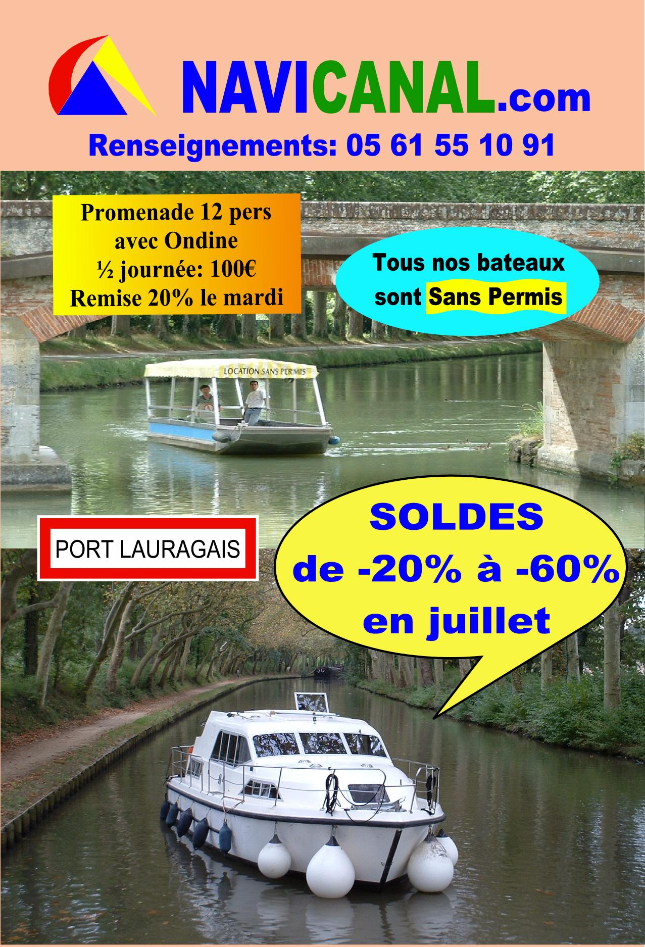 Location Bateau Canal Du Midi Tarif
