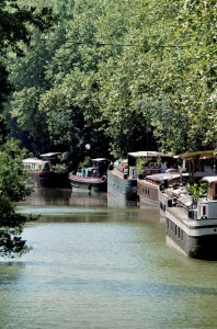 CANAL DU MIDI ILLUSTRATION