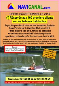 PLAQUETTE 10 X 15 - PROMO OCTOBRE 100 clients - VERSO