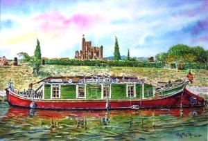 La Barque de poste de Monsieur Robert à CAPESTANG