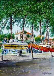 Le quai et Les Chambres du Canal