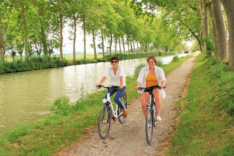 Location de vélo canal du midi
